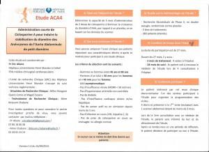 etude ACA4